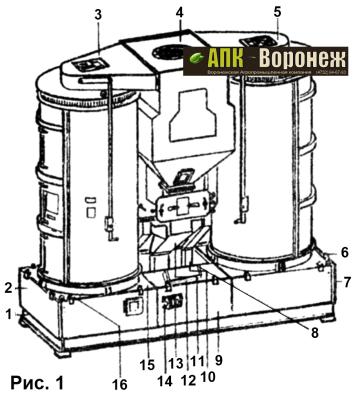 Общий вид Р8-БЦСМ-50.00.000